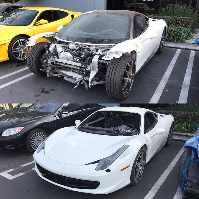 Collision Before and After